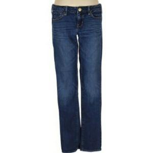 American Eagle Dark Wash Skinny Jeans Size 4